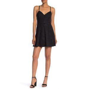 Parker Juliet Pleated Mini Dress